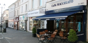Caffe Macchiato - Outside, Union Street, Aldershot
